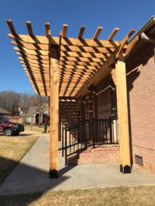 pergola tulsa oklahoma patio construction builder