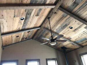 custom ceiling unfinished wood barn wood tulsa oklahoma construction home remodel remodeler